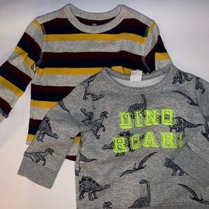 T-shirt bundle Gap 12-18 months